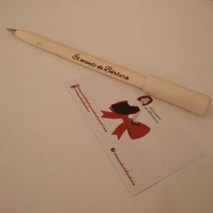 Bolígrafo de madera personalizado