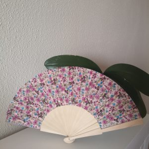 Abanico personalizado Fucsia
