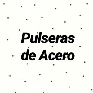 Pulseras de Acero