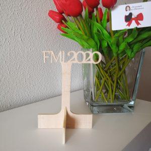 Mesero FFMM2020 de madera