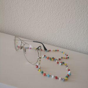 Cordón de gafa piedras de colores