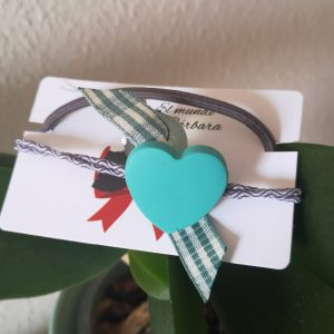 Coletero corazón verde