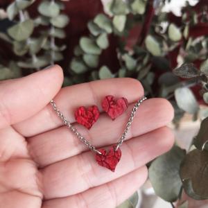 Conjunto mini corazón