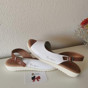 Sandalia blanca