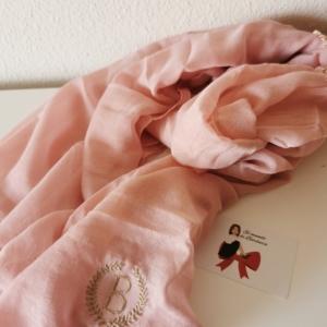 Fular rosa
