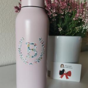 Botella/Termo Rosa