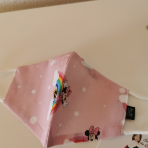 Mascarilla Minnie niña Disney con filtro