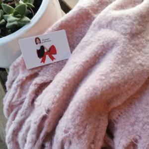 Bufanda Rosa personalizada