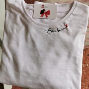 Camiseta mujer manga larga nombre