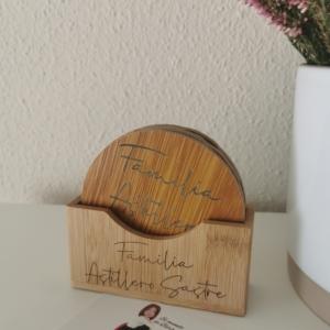 Posavasos madera