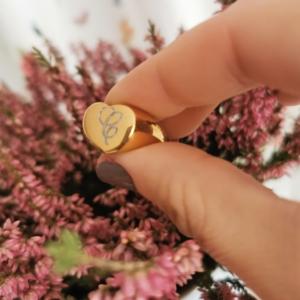 Sello Corazón Dorado