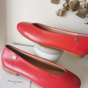 Bailarinas Roja Talla 40