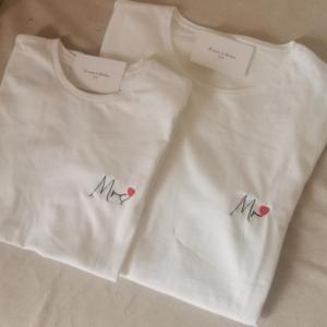 Camisetas Mr y Mrs