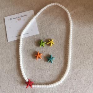 Collar Estrella color